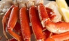 Snow & Crab - Lake Forest: $8 for $15 Worth of Cajun Seafood, Tea, and Shaved Ice at Snow & Crab