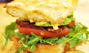 Cafe Revue: Sandwiches, Salads, Soups, and Scratch-Baked Goods at Cafe Revue (50% Off)