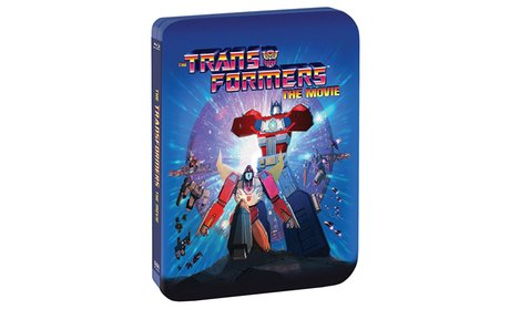 The Transformers: The Movie 30th Anniversary Edition Steelbook Blu-Ray