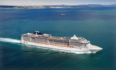 groupon daily deal - 7-Night Eastern or Western Caribbean Cruise from MSC Cruises