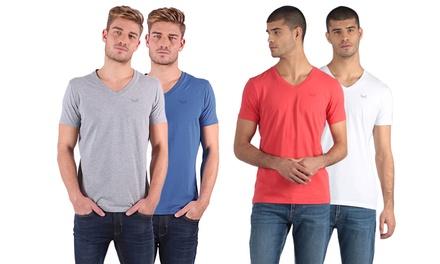 2 T-shirt da uomo Kaporal