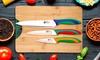 Set de couteaux/planche à découper Casa Benetton
