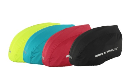 Waterproof Bike Helmet Cover with Reflective Strip: One ($19.95) or Two ($29.95)
