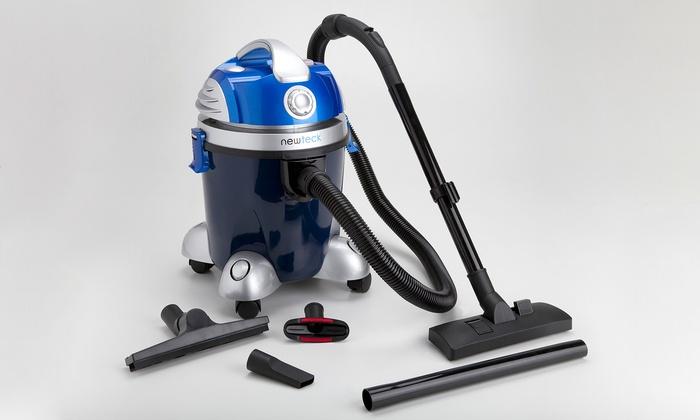Groupon Goods Global GmbH: 2 en 1, turbo aspirador sólidos y líquidos por 79,99 € (85% de descuento)
