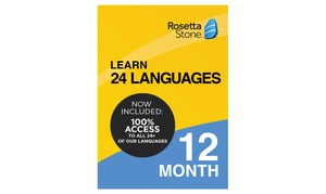 Up to 44% Off Rosetta Stone Subscription