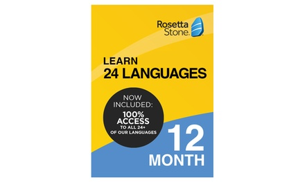 Rosetta Stone Subscriptions (Up to 36% Off)