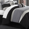 Jace Quilted and Embroidered Comforter Set (8-Piece)