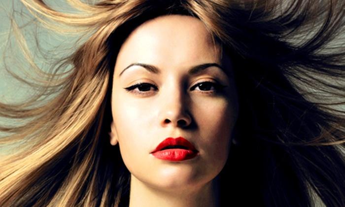 Ella & Davids Beauty Salon - Broad Channel: Keratin Treatment with Keratin Complex by Coppola and Haircut or Mani-Pedi at Ella & David's Beauty Salon (65% Off)
