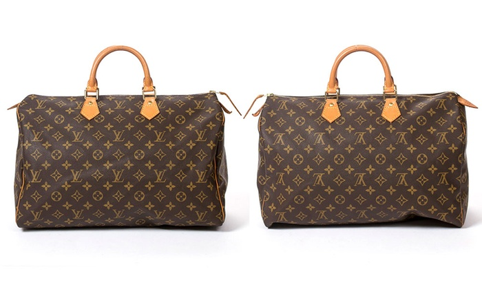 Sac à main Speedy Louis Vuitton seconde main   Groupon 449c5064735