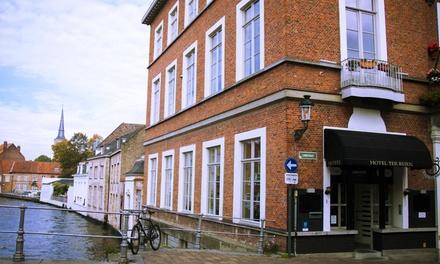 Brugge: 1 tot 3 nachten voor twee met ontbijt bij Canalview Hotel Ter Reien