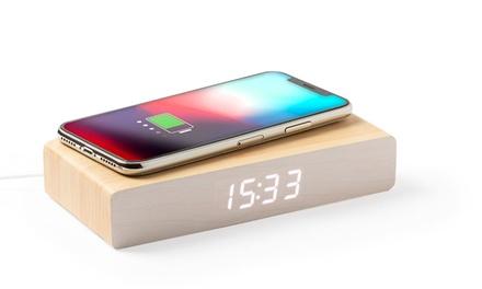 Orologio caricabatterie wireless
