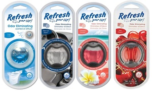 Refresh Scented Car Oil Diffuser (4-Pack)