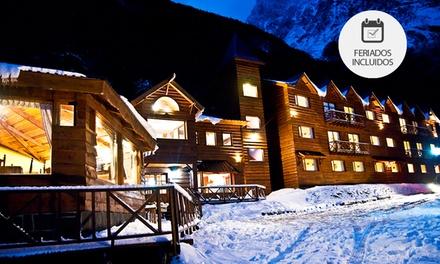 Ushuaia: desde $1999 por 2, 3, 4 o 7 noches para dos + desayuno + spa + feriados en Kauyeken