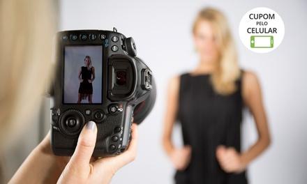 Take Up Produções– Vila Ester: ensaio fotográfico em estúdio e fotos em DVD (opção de fotos impressas e pôster)