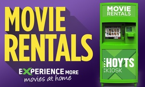HOYTS Kiosk: HOYTS Kiosk: Rent Two Movies for $6 or Three Movies for $8 at over 700 locations (Up to $11.97 Value)