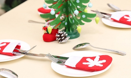 .95 for Christmas Cutlery Holder Socks or for Christmas Table Covers
