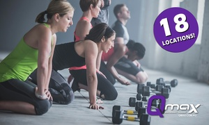 Qmax: $9.95 for Three-Week Unlimited Functional Group Training Class Pass at Qmax, 18 Locations (Up to $80 Value)