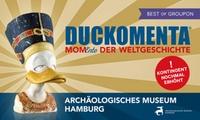 """2 Tickets für """"DUCKOMENTA – MomEnte der Weltgeschichte"""" im Archäologischen Museum Hamburg (bis zu 50% sparen)"""