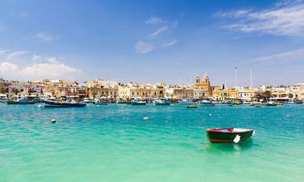 ✈ Malta: 3, 4, 5 or 7 Nights at a Choice of 4* Spa Hotels with Return Flights*