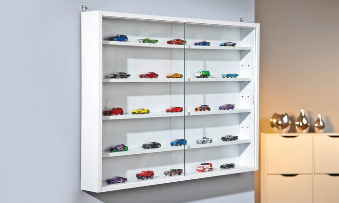 vitrine pour miniatures groupon. Black Bedroom Furniture Sets. Home Design Ideas
