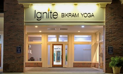 Five Drop-In <strong>Yoga</strong> Classes or One Month of Unlimited <strong>Yoga</strong> Classes at Ignite Bikram <strong>Yoga</strong> (Up to 76% Off)