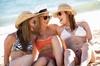 Tan-talizing Custom Airbrush Tanning - Trilogy: Three Custom Airbrush Tanning Sessions at Tan-talizing Custom Airbrush Tanning & Wraps Corona (65% Off)