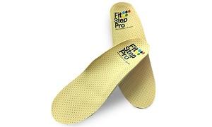פיט סטפ פרו: זוג מדרסים פונקציונאליים ב-199 ₪ או זוג מדרסים אורתופדיים ביו-מכאניים בהתאמה אישית ב-289 ₪. תקף ב-8 סניפי Fit Step Pro