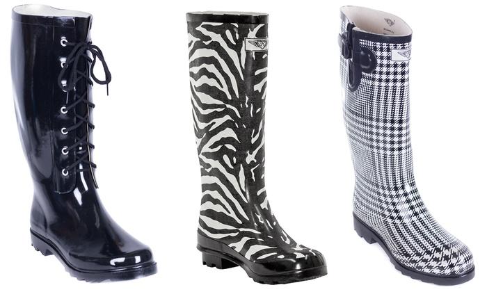 Women's Rubber Rain Boots