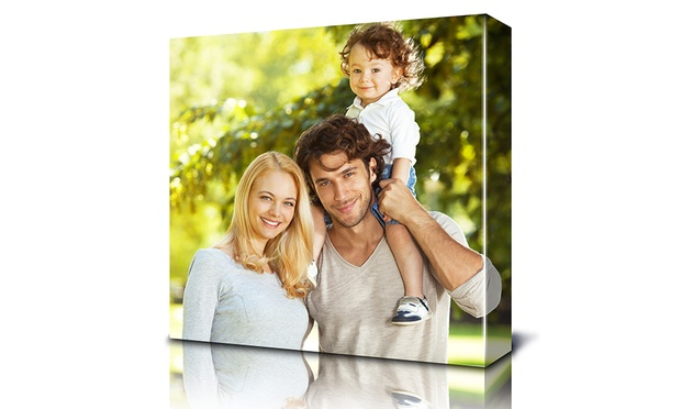From $19 for a 30x30cm Personalised Square Print Canvas (Dont Pay up to $621)