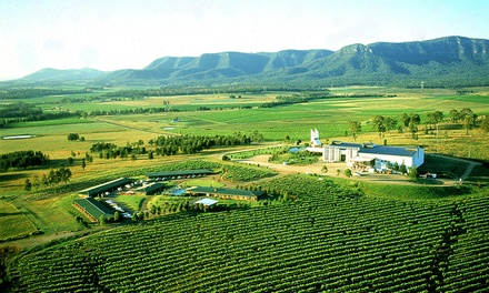 Hunter Valley: One or Two Nights for Two with Tours, Wine and Cheese Tasting and Spa Discount at Hunter Valley Resort