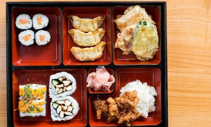 Bento Menu for Two, Four or Six at Yakitori