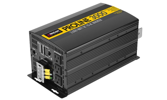 Wagan Proline 3,000W AC-to-DC Inverter