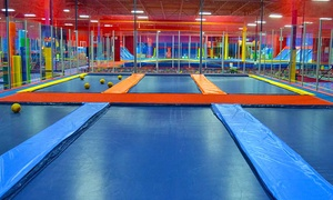 JumpStreet - Austin: Two Hours of Trampoline Jumping, Games, and Activities for Two or Four at JumpStreet (Up to 52% Off)