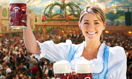 Single-Day or Weekend-Admission for Two to Genuine German Octoberfest on October 4–19, 2019 (Up to 58% Off)