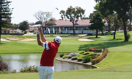 $22 for WA Golf Voucher Booklet with Access to Up to 47 Courses from 2020 WA Golf Voucher Book (Up to $37.95 Value)
