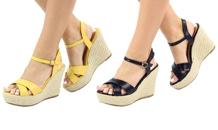 Women's Wedge Espadrille Sandals
