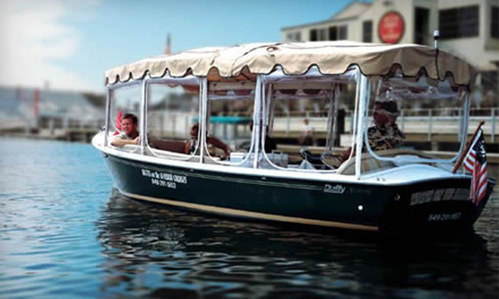Watts on the Harbor Cruises - Newport Beach: $99 for a Two-Hour Hors D'Oeuvres Cruise for Up to Six on Newport Harbor from Watts on the Harbor Cruises ($534 Value)