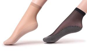 (Mode)  6 ou 12 Socquettes collants -79% réduction