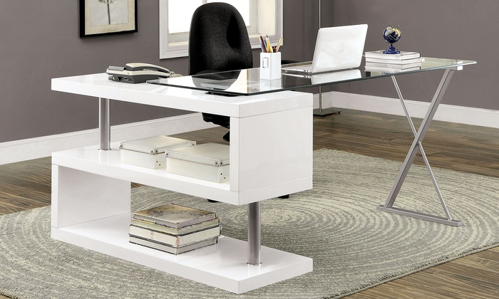 Convertible Office Desk Groupon Goods