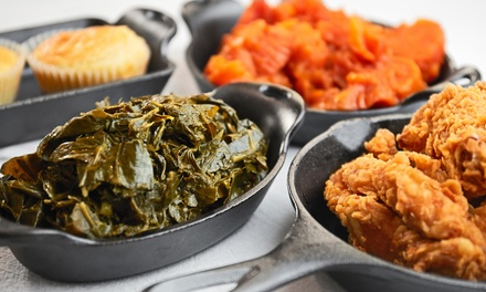 $0 for $5 Worth of Soul Food — Jireh's Soulfood Restaurant