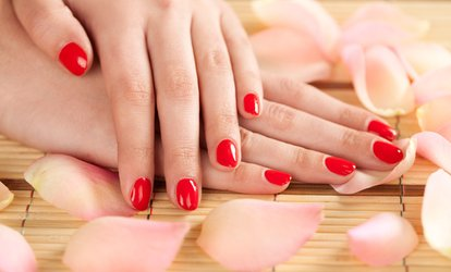 image for Gel Manicure or Luxury Gel Manicure with Hand and Arm Massage at Liberty Spa at The Haven (Up to 63% Off)