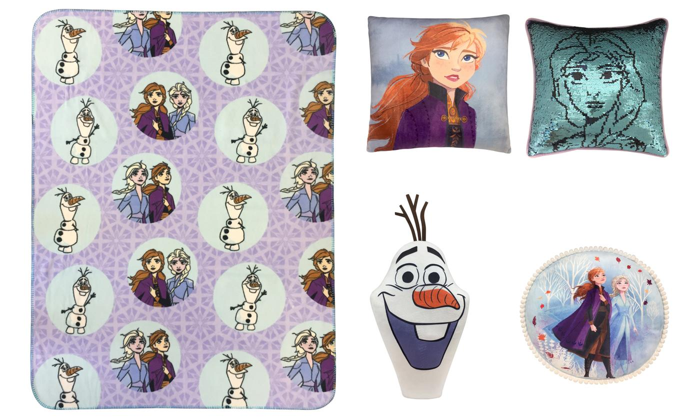 Disney Frozen 2 Cushion or Throw