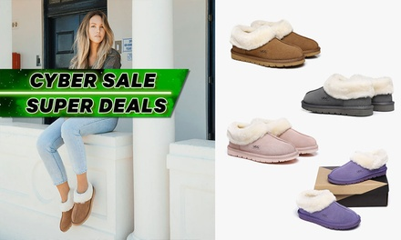 $45 for Australian Shepherd Ugg Homey Slippers (Don't Pay $106)