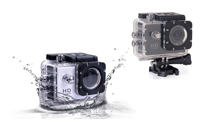 SJCAM 1080p Full-HD Waterproof Action Camera with Optional Extra Battery and Kingston Memory Card (Shipping Included)