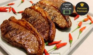Churrascaria Paiol: Churrascaria Paiol - Rebouças: almoço ou jantar para 1, 2 ou 4 com buffet à vontade de carnes, massas, sushi e mais