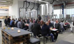 Landgang Brauerei: Brauereiführung und Craft Beer Tasting inkl. Hot Dog in der Landgang Brauerei (40% sparen*)