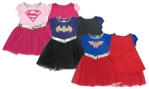 Super Hero Cosplay Cape Dresses