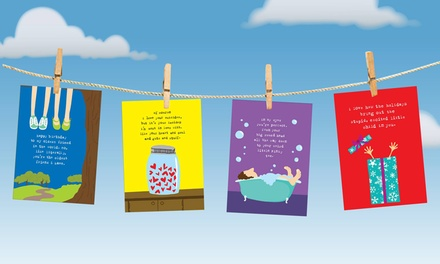 Funny Greeting Cards and Gifts from Uncooked (Up to 63% Off). Two Options Available.
