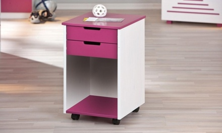 Kidz Line Alexandra Pink Cabinet