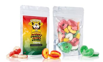 High Potency CBD Infused Gummy Candy Party Bag from Kangaroo CBD